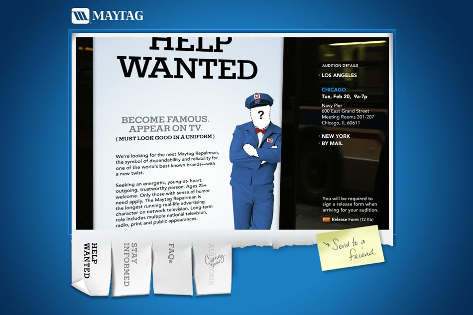 The Next Maytag Repairman
