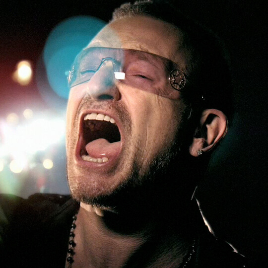 BlackBerry Loves U2 - Bono