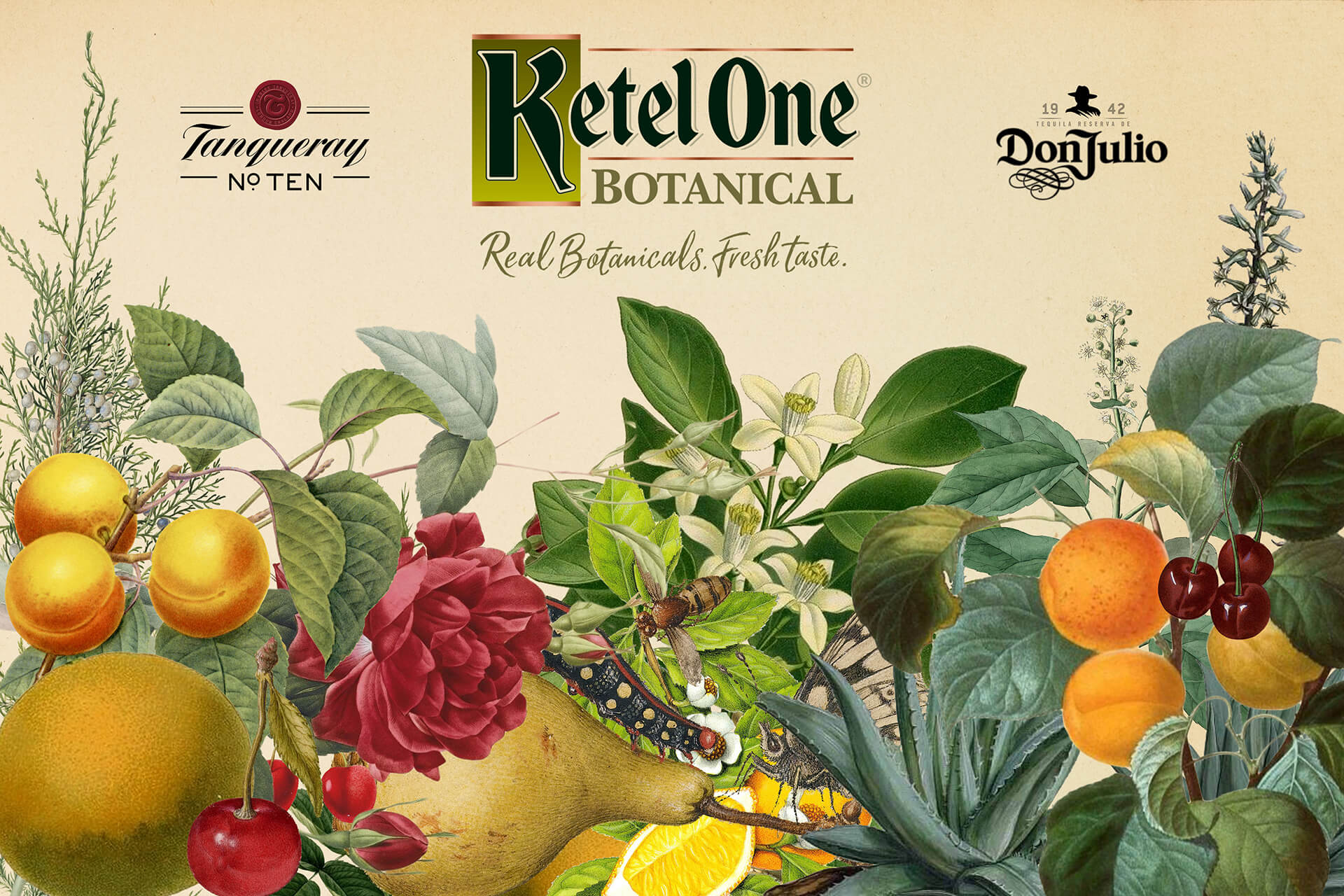 Ketel One Botanicals Backdrop