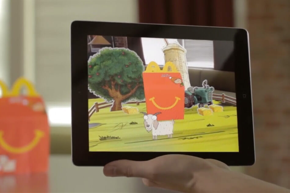 McDonalds Happy Meal AR