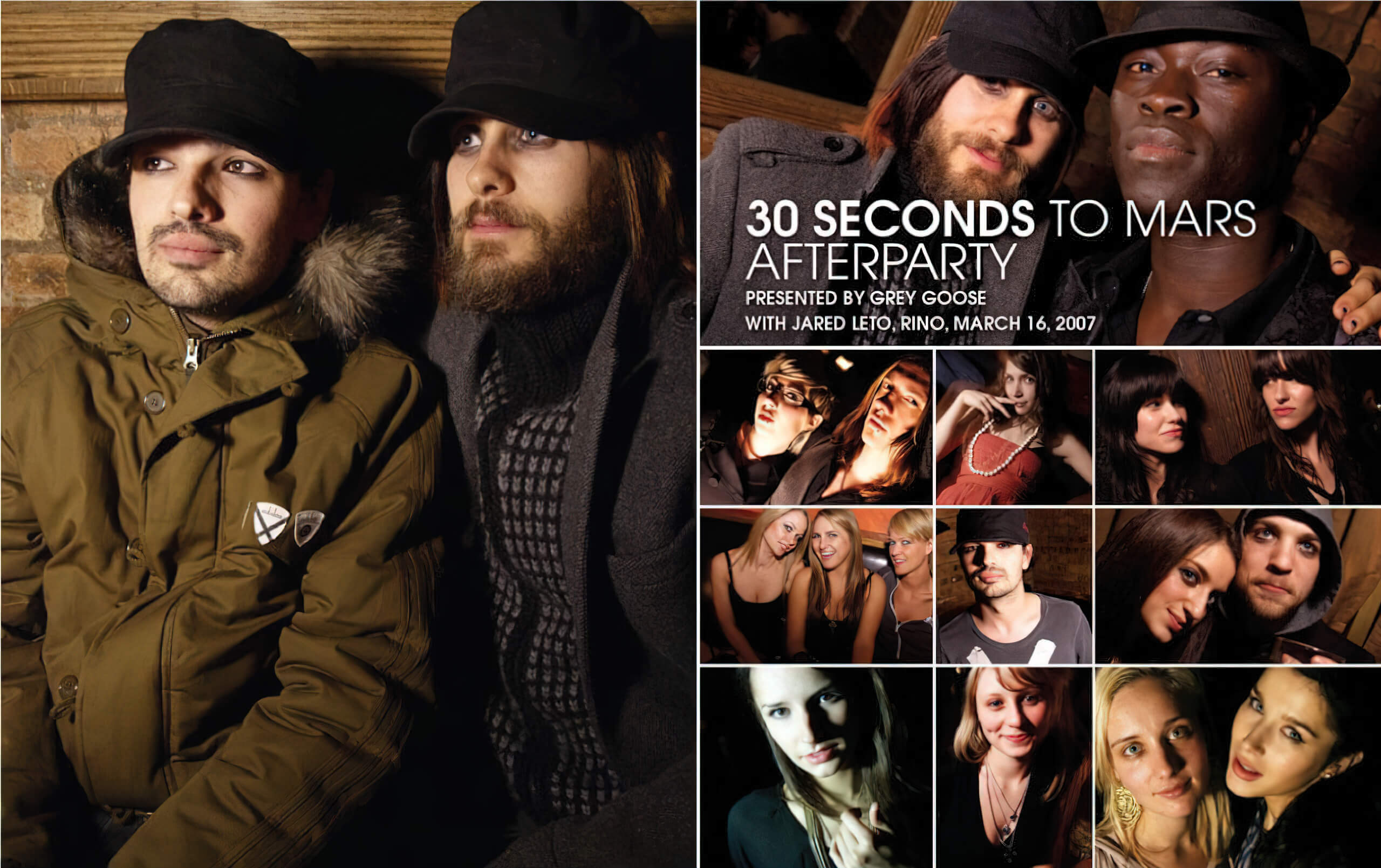 30 Seconds to Mars Afterparty hosted by Jared Leto