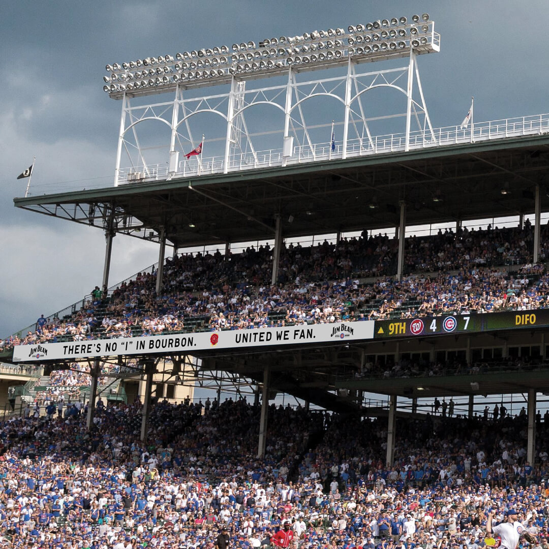 Jim Beam - Wrigley Field Takeover