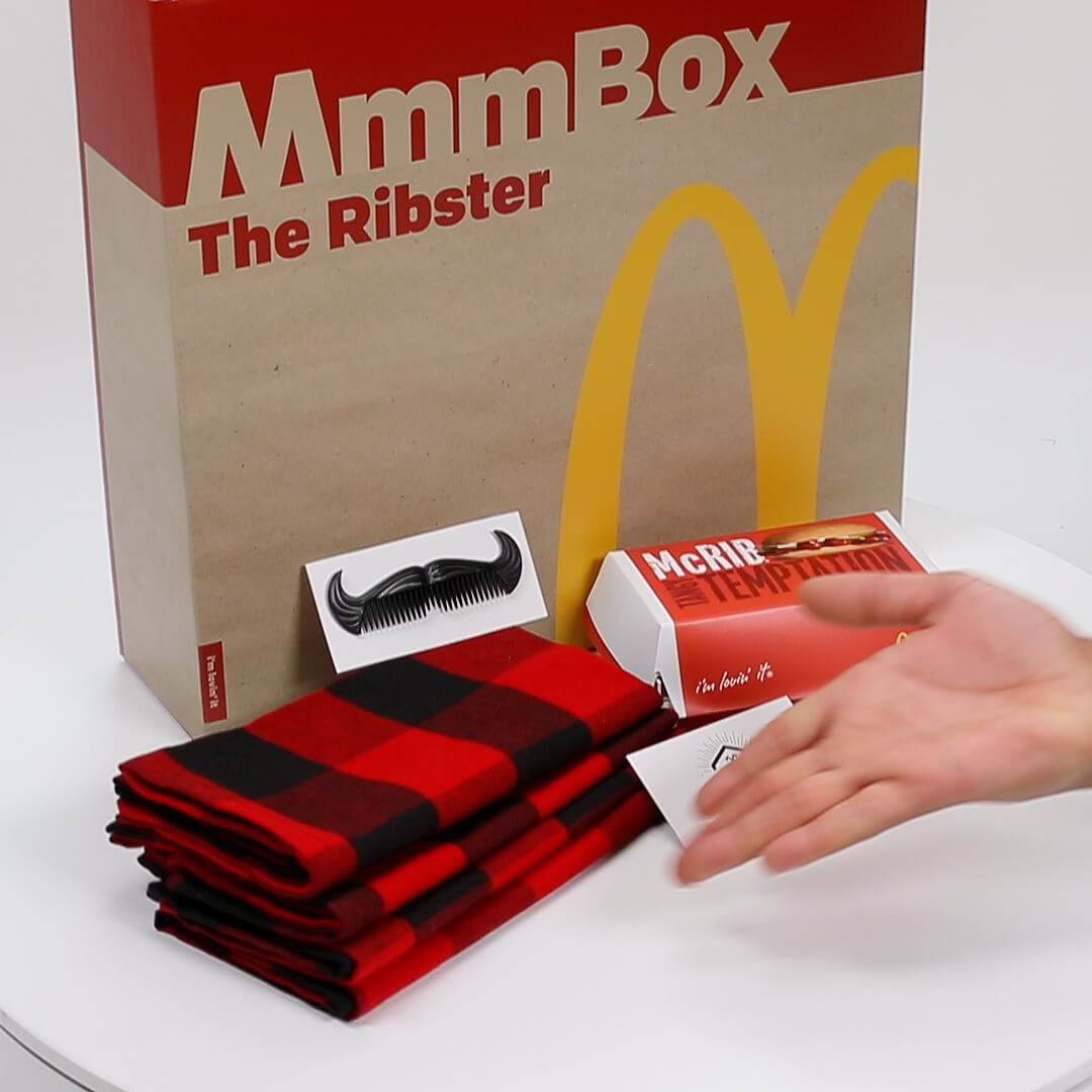 McDonalds Mmmbox
