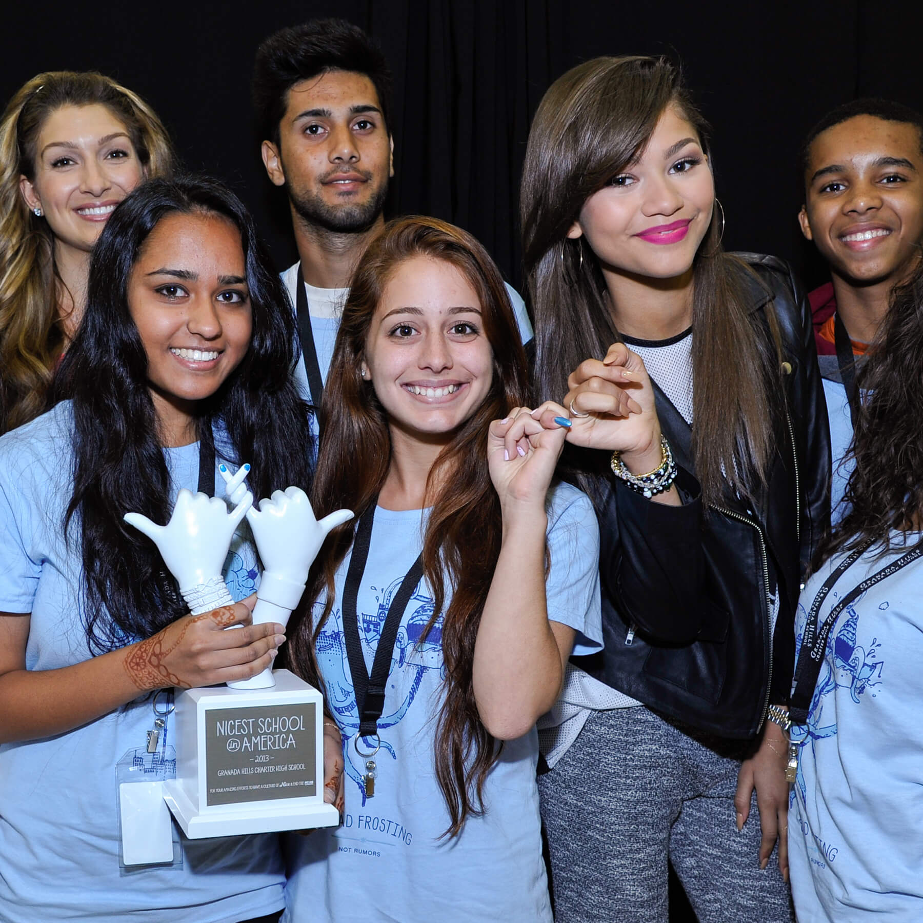 Biggest Assembly Ever: Zendaya