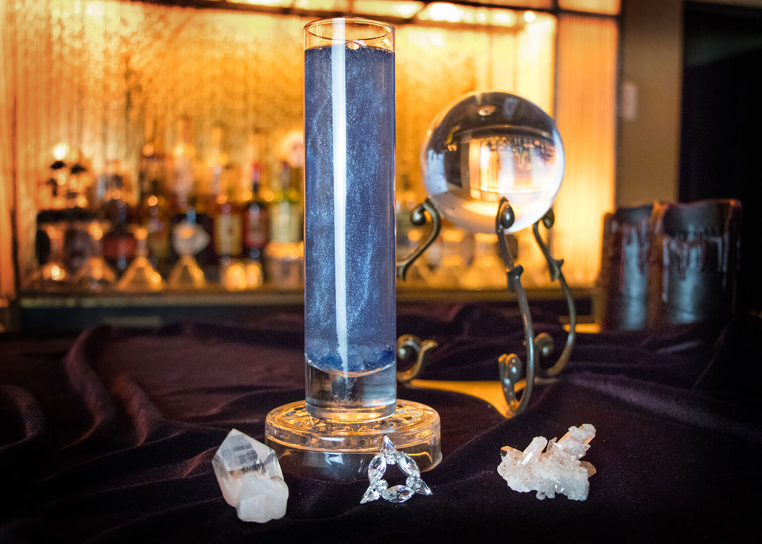 Rhiannon Pop-Up Bar - Crystal Visions